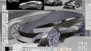 Alias Product design software for sketching, concept modeling, surfacing, visualization
