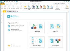 Wondershare PDFelement Pro 7 Crack [Torrent] License Key